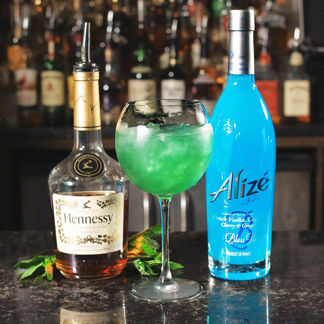 The Incredible Hulk! One part Alizè one part Hennessy ...